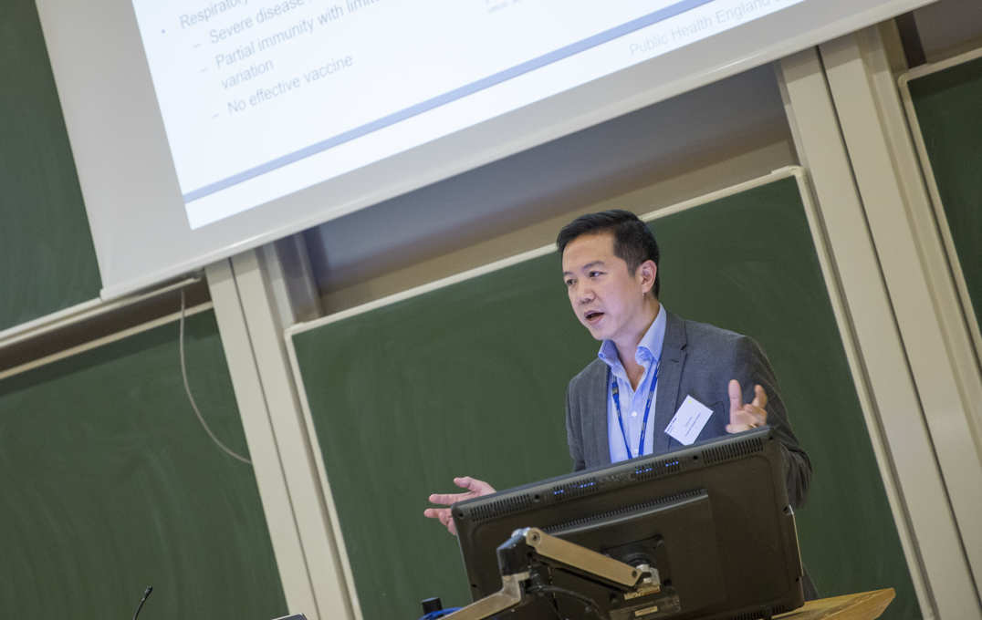 Dr Chris Chiu (Department of Medicine) on 'Human infection challenge studies at Imperial.'