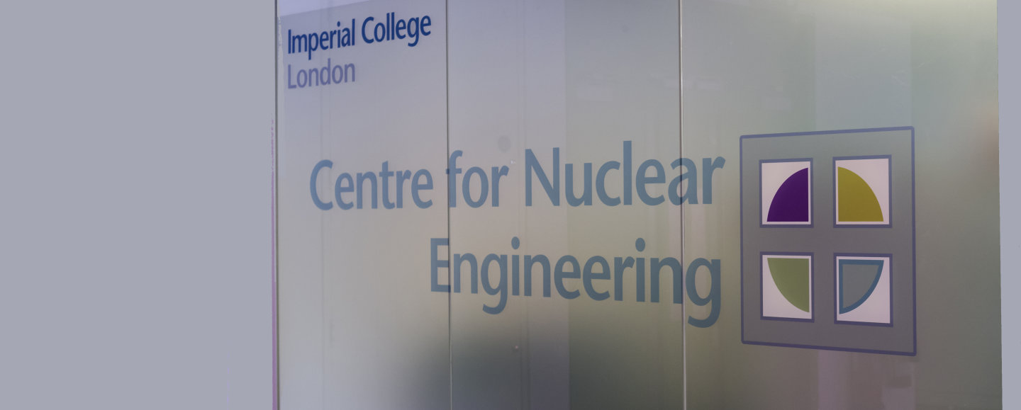 Centre for Nuclear Engineering | Research groups | Imperial