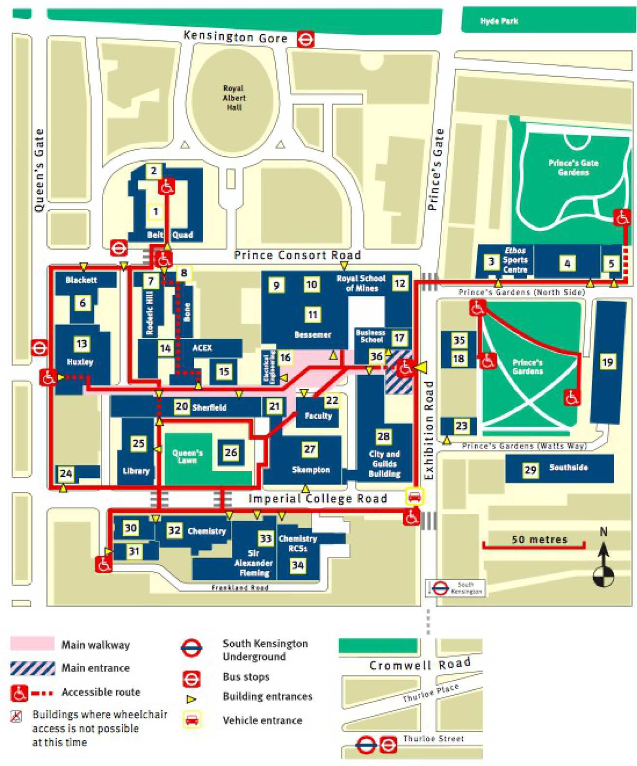 imperial college south kensington campus map Contact Us Research Groups Imperial College London imperial college south kensington campus map