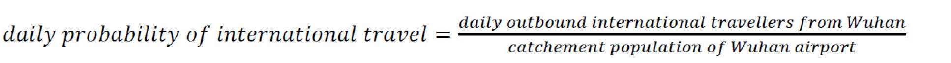 daily probability