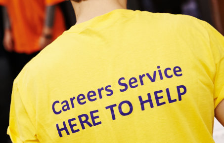Careers 'here to help' polo