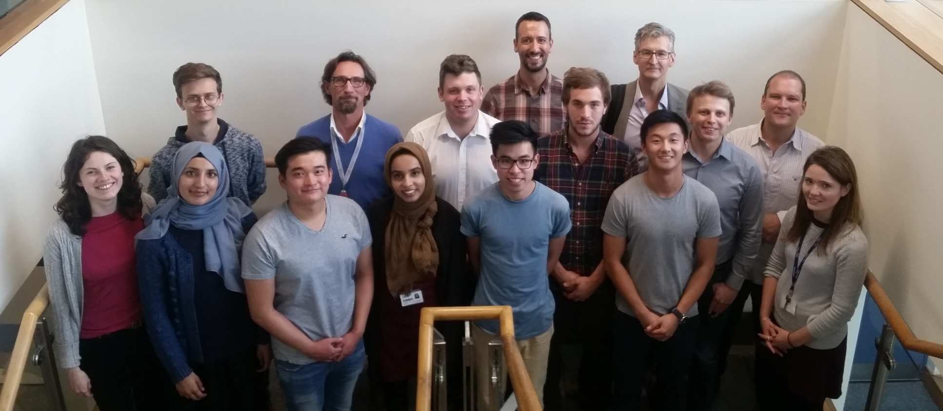 MRes in Structural Molecular Biology cohort; academic year 2017-18