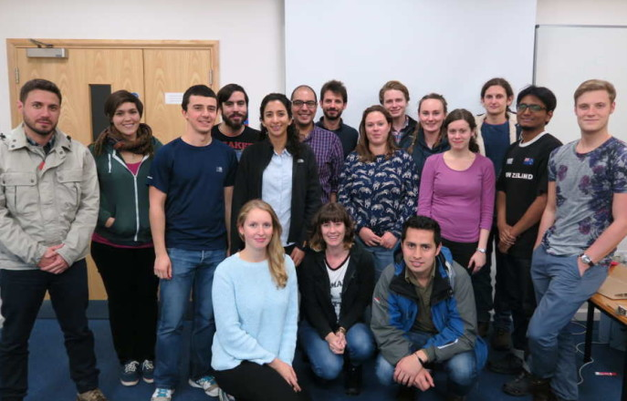 Cohort 2 group photo