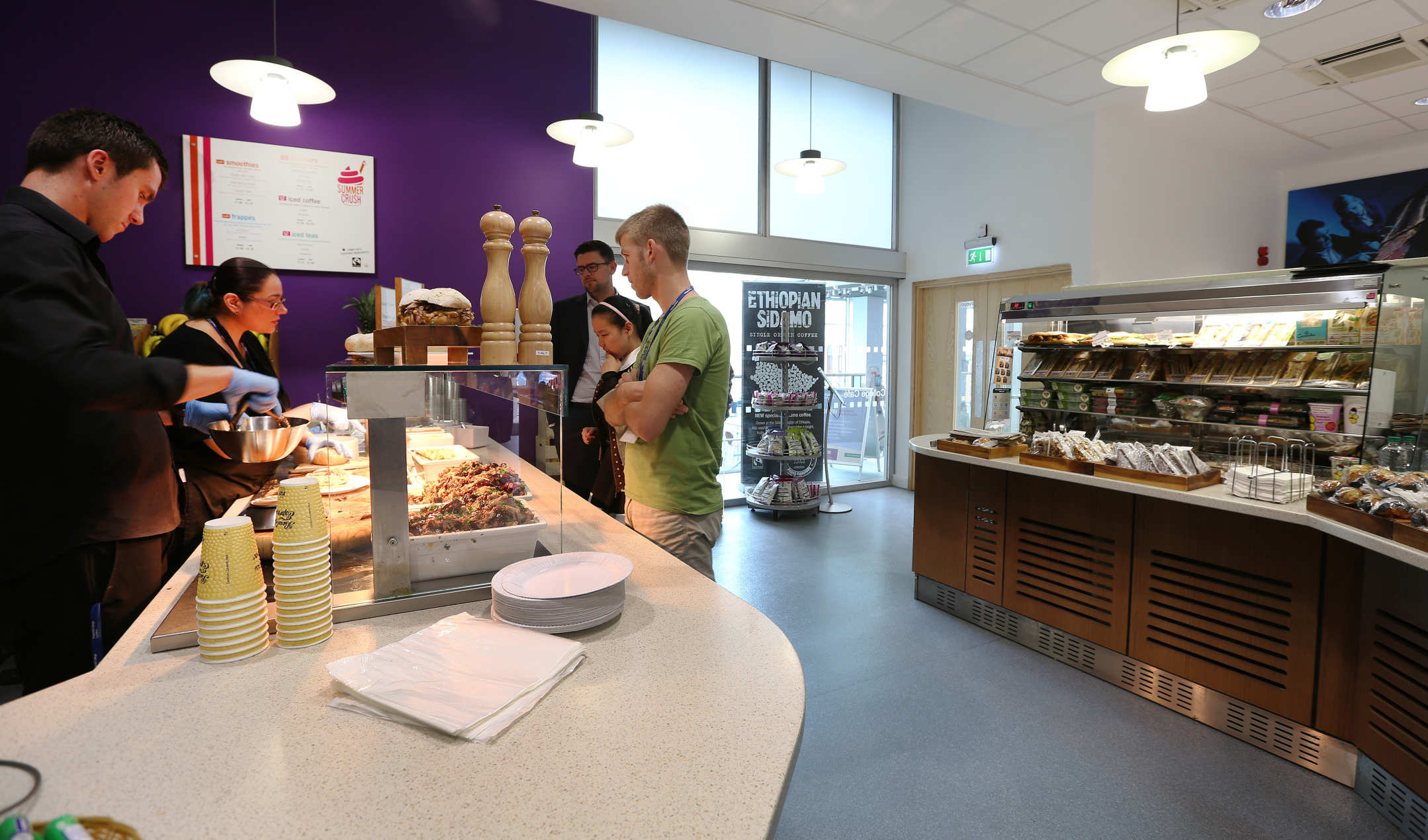 College Cafe Administration And Support Services