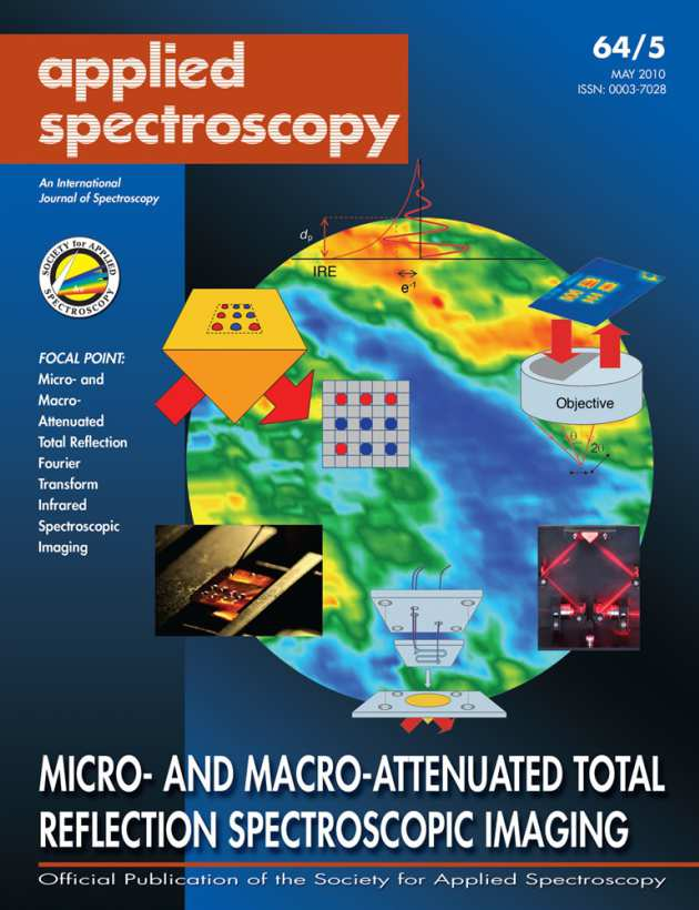 Front cover of Applied Spectroscopy