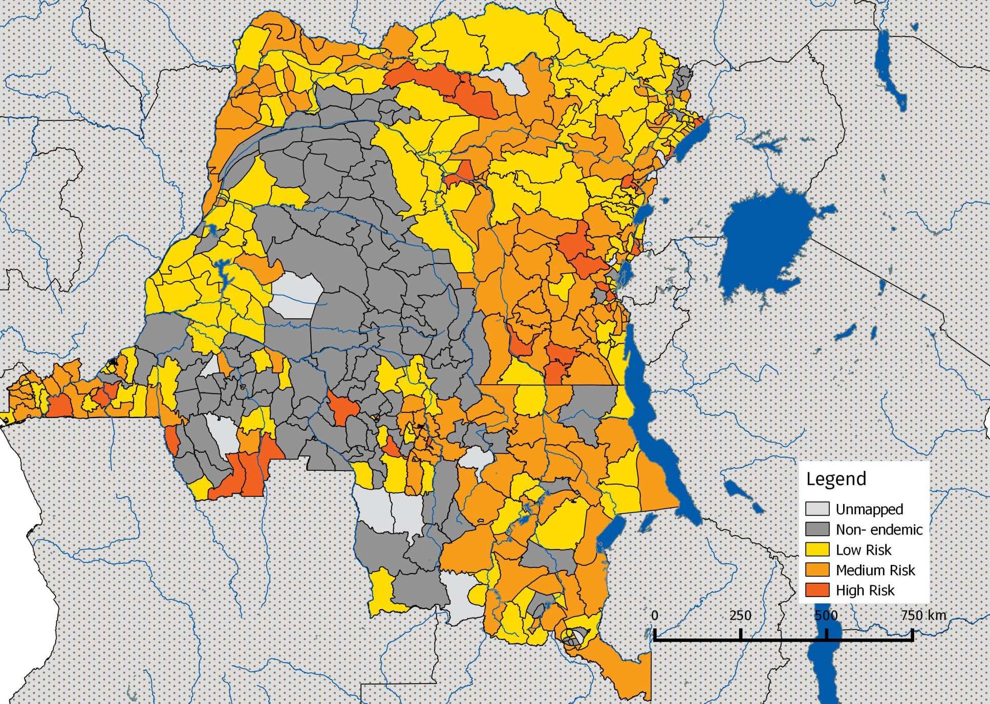 Democratic Republic Of The Congo Faculty Of Medicine Imperial - Democratic republic congo map
