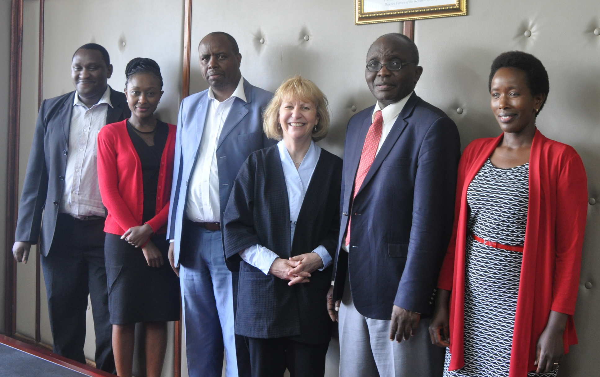 While in Kenya, Professor Dallman met with the Director of the Ministry of Education and the Science Innovation officer.