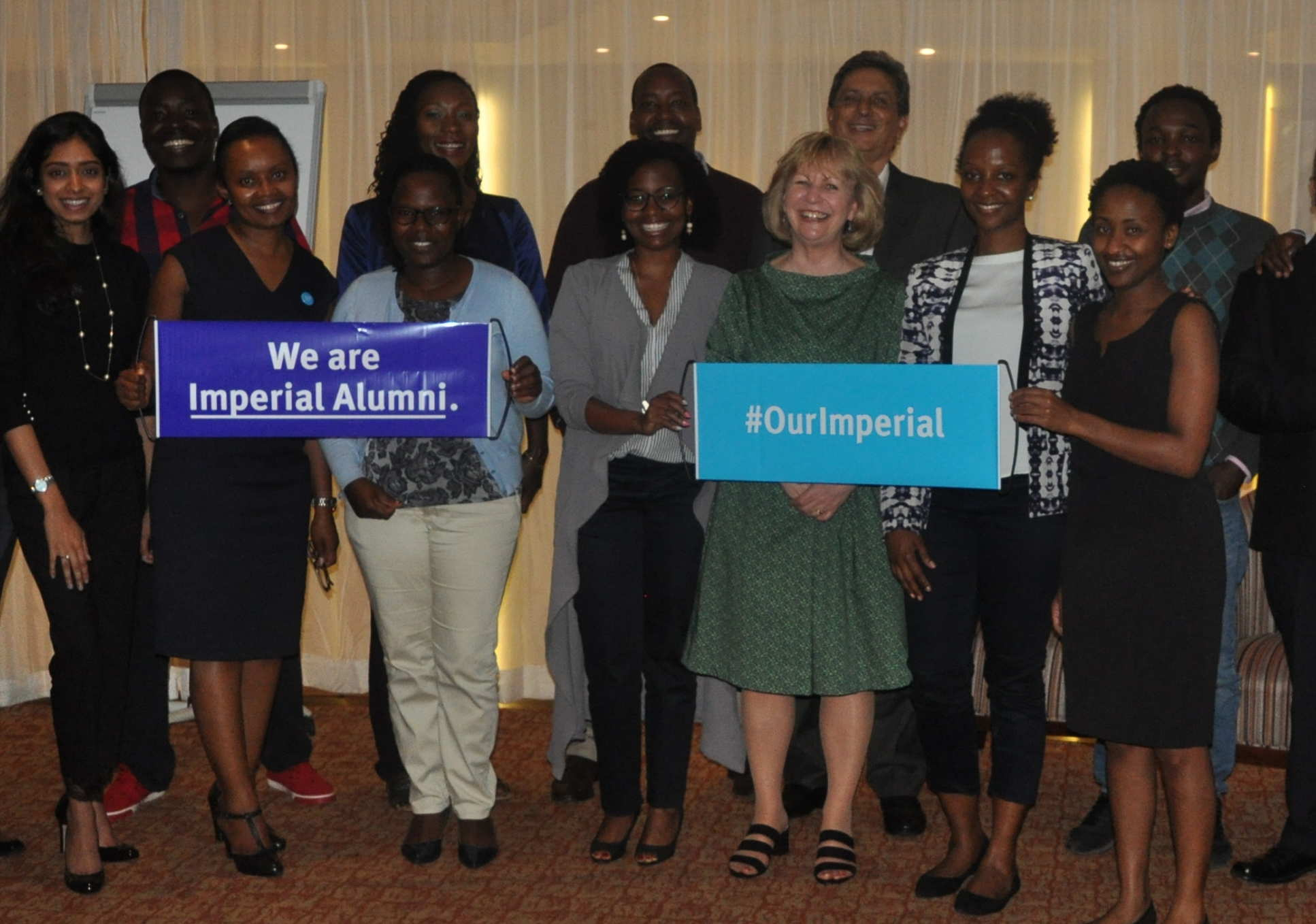 Nairobi in Kenya also held its first ever Imperial alumni event during the trip