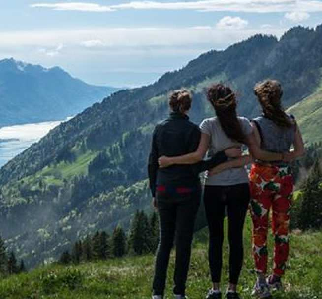 Maths student Sophie spent her year abroad in Switzerland.