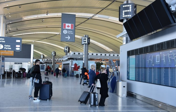 Photo inside Toronto Pearson Airport