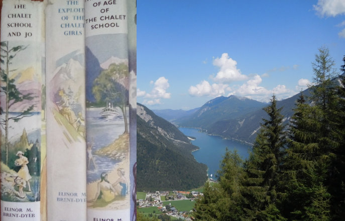 Chalet Girls books and Lake Achensee