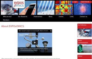 exposomics website