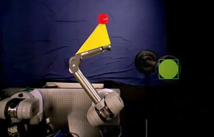 Vision-based robot control