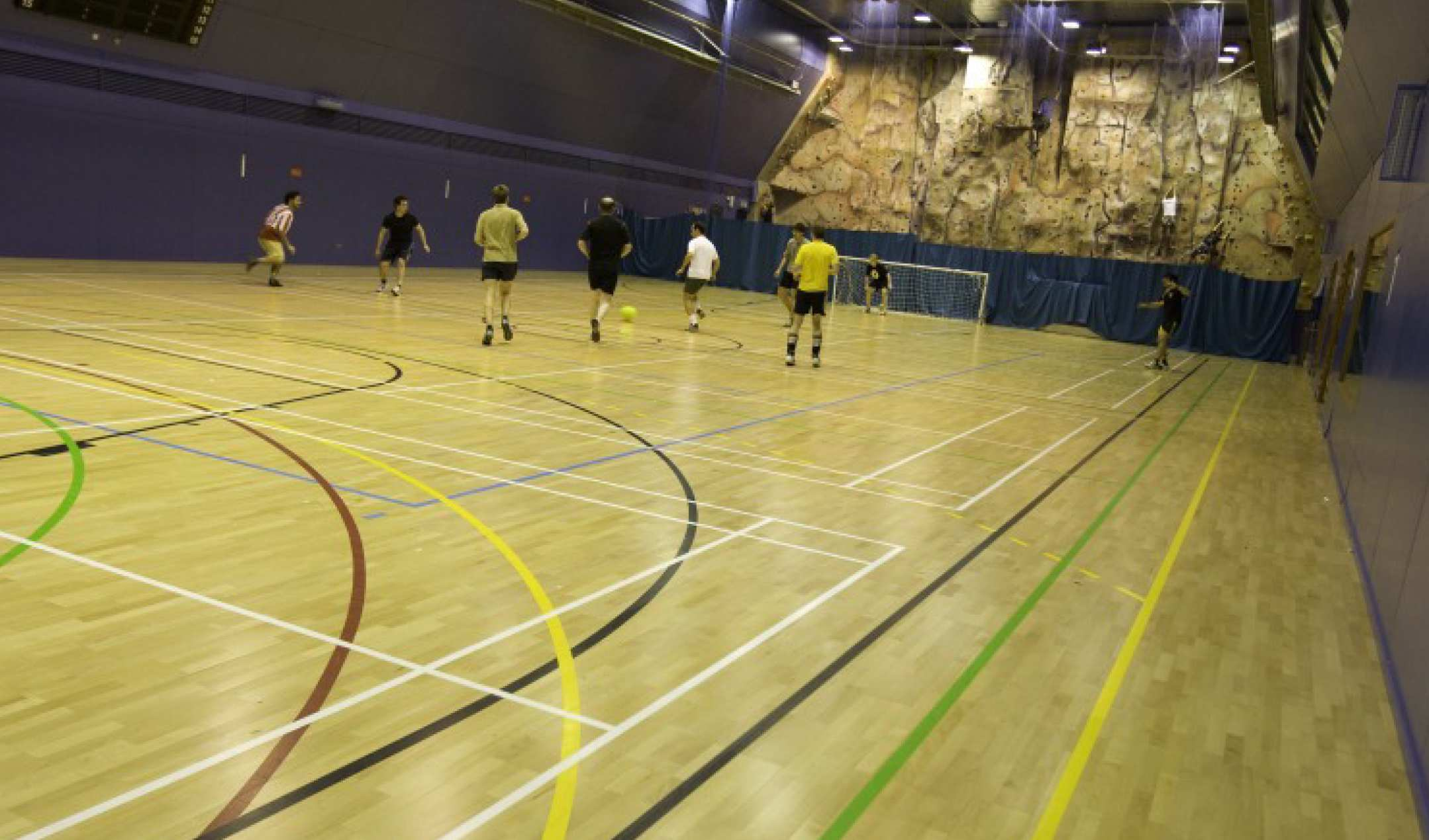Sports Hall Administration And Support Services