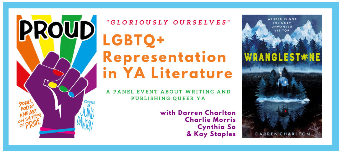 Poster for LGBTQ panel event