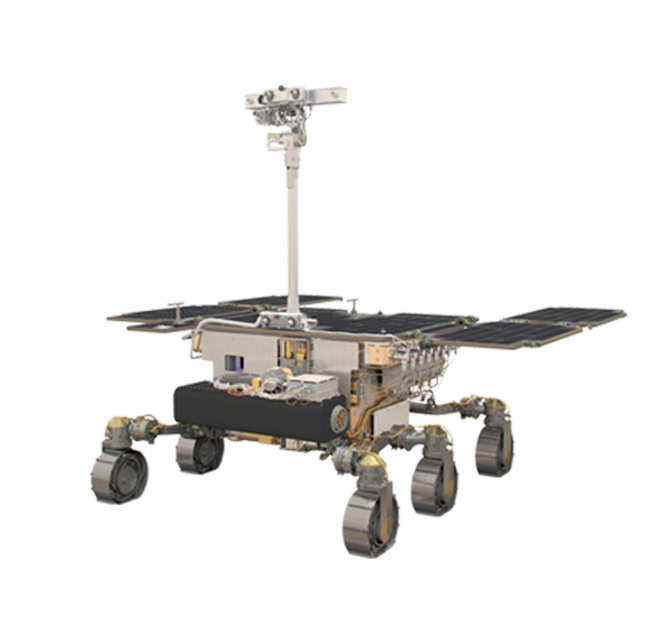 ExoMars Rover illustration
