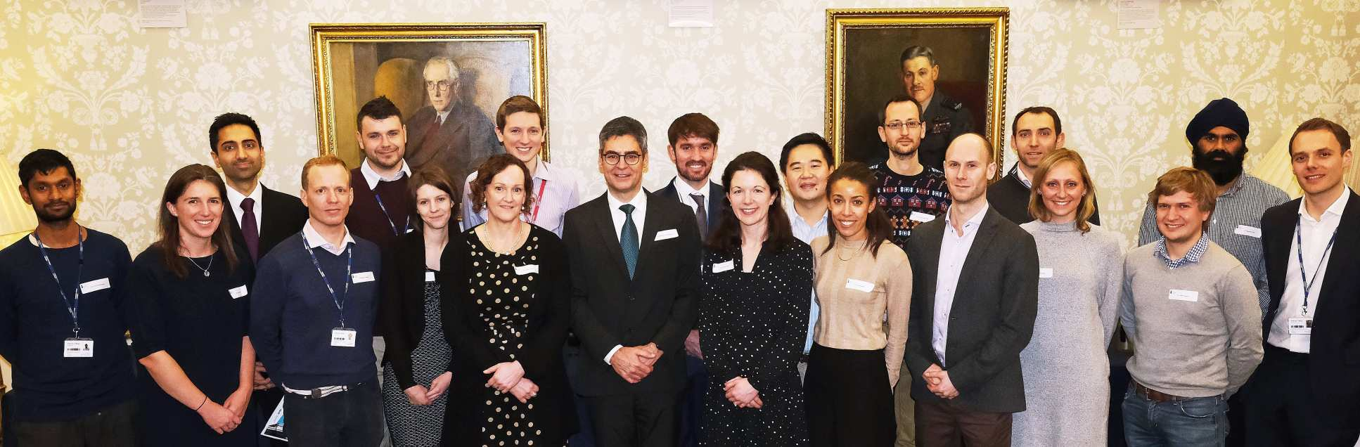 4i Fellows with Directors of the scheme, Professor Matthew Pickering and Professor Clare Lloyd