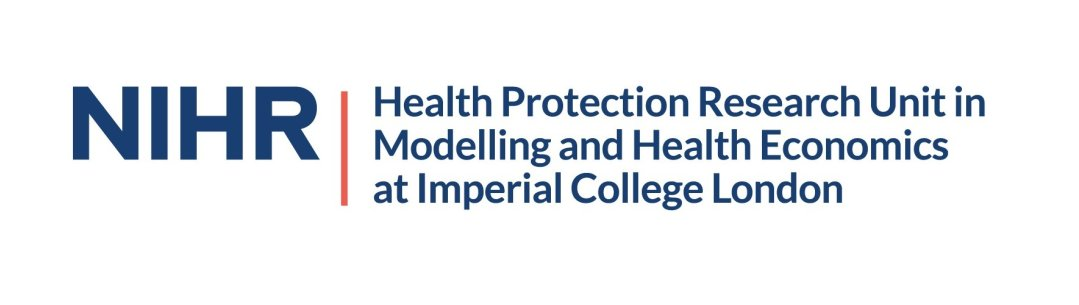 NIHR Health Protection Research Unit in Modelling and Health Economics at Imperial College London logo