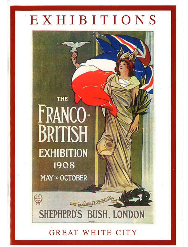 Poster for the Franco-British Exhibition 1908