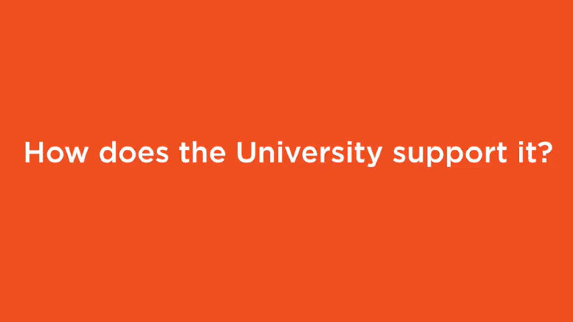 How does the University support school governors?