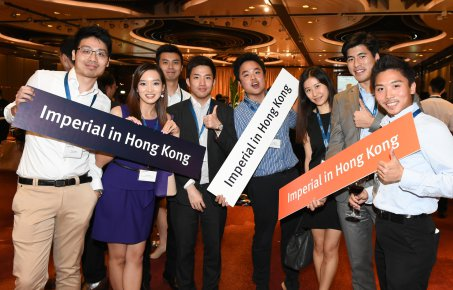 Alumni reception in Hong Kong