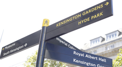Imperial College street signs