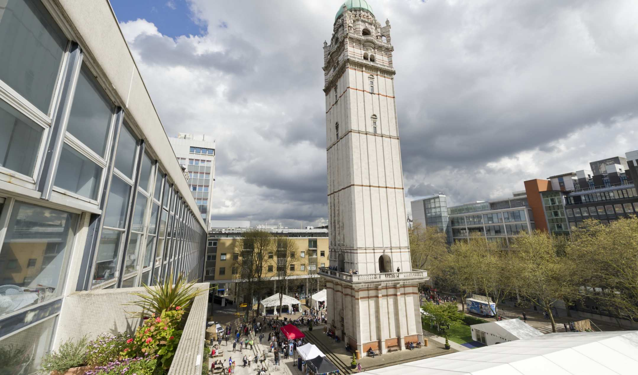 The queens tower about imperial college london many activities events markets festivals and parties take place at the foot of the queens tower altavistaventures Choice Image
