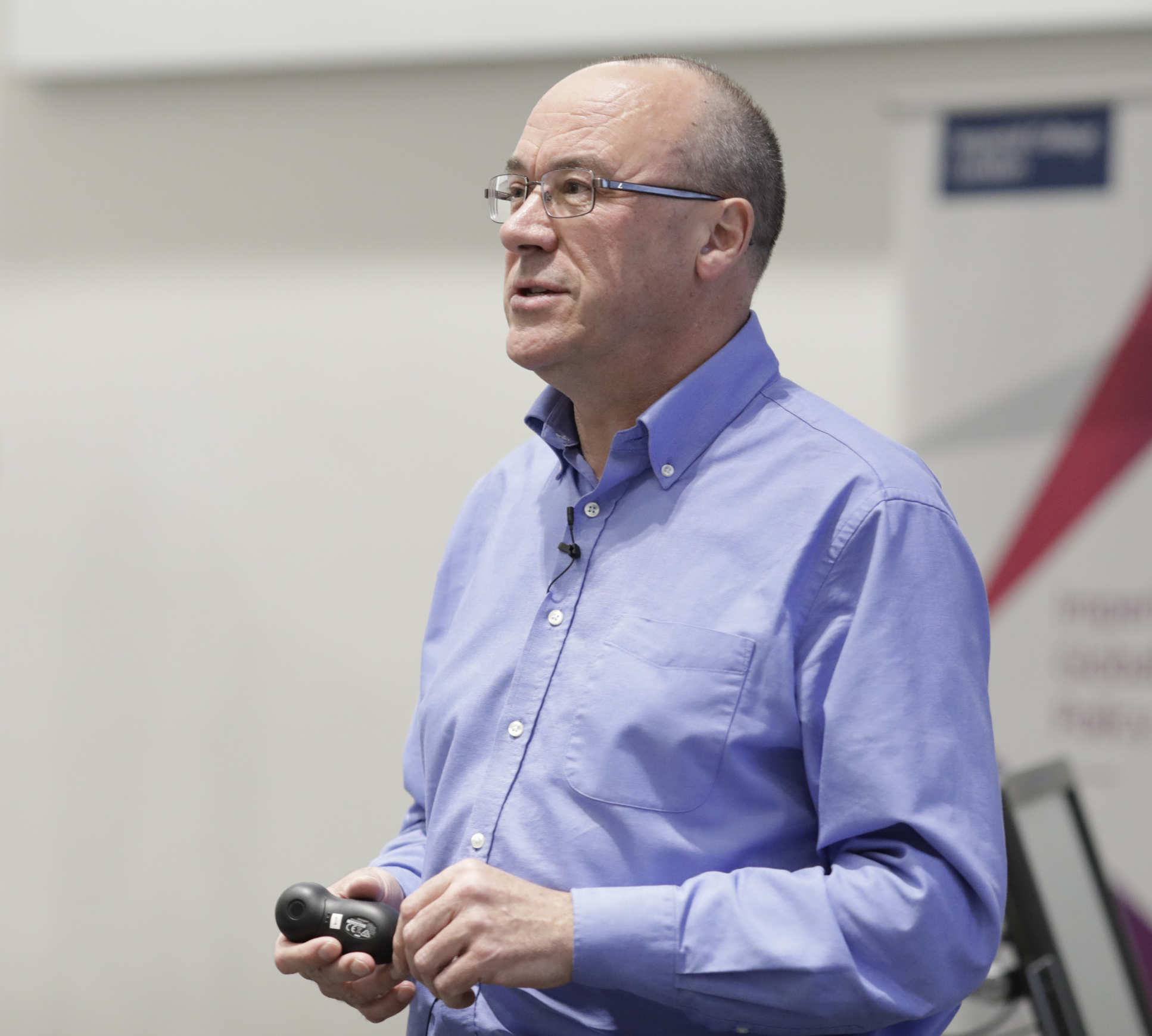 Professor Chris Bishop, Director of the Microsoft Research Lab,