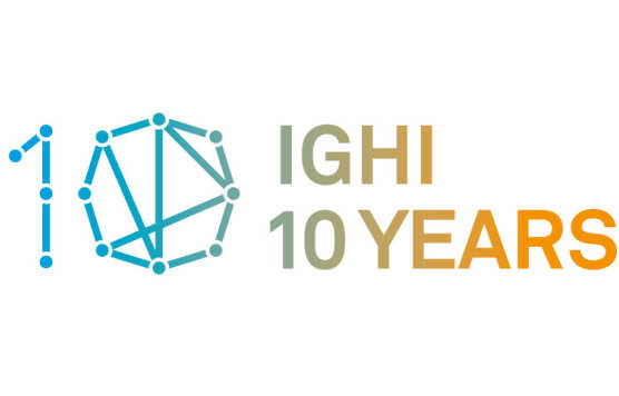 IGHI 10 years badge