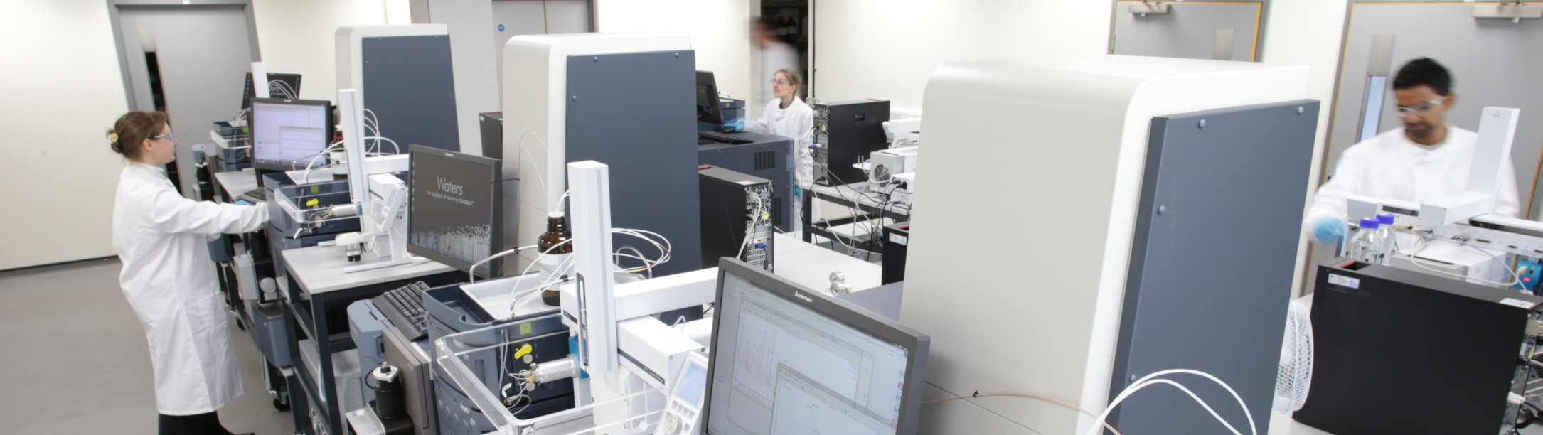 Phenome research lab equipment and researchers