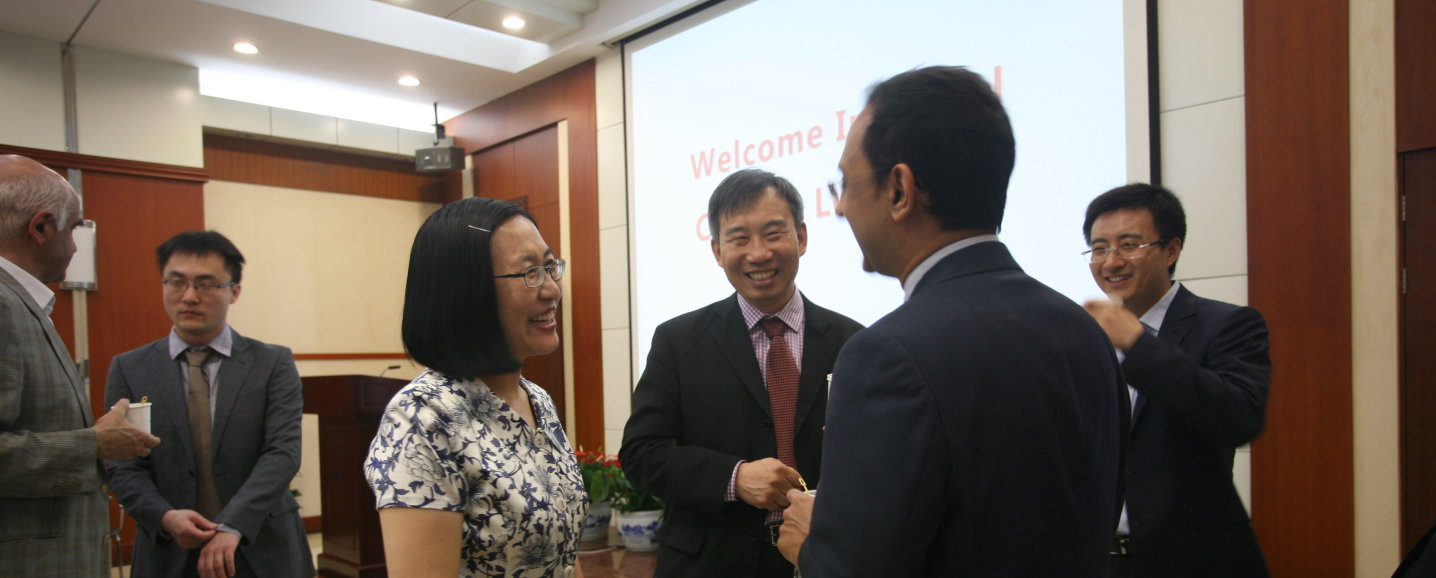 Welcome by Professor Wang