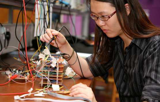 Electrical and electronic engineering student