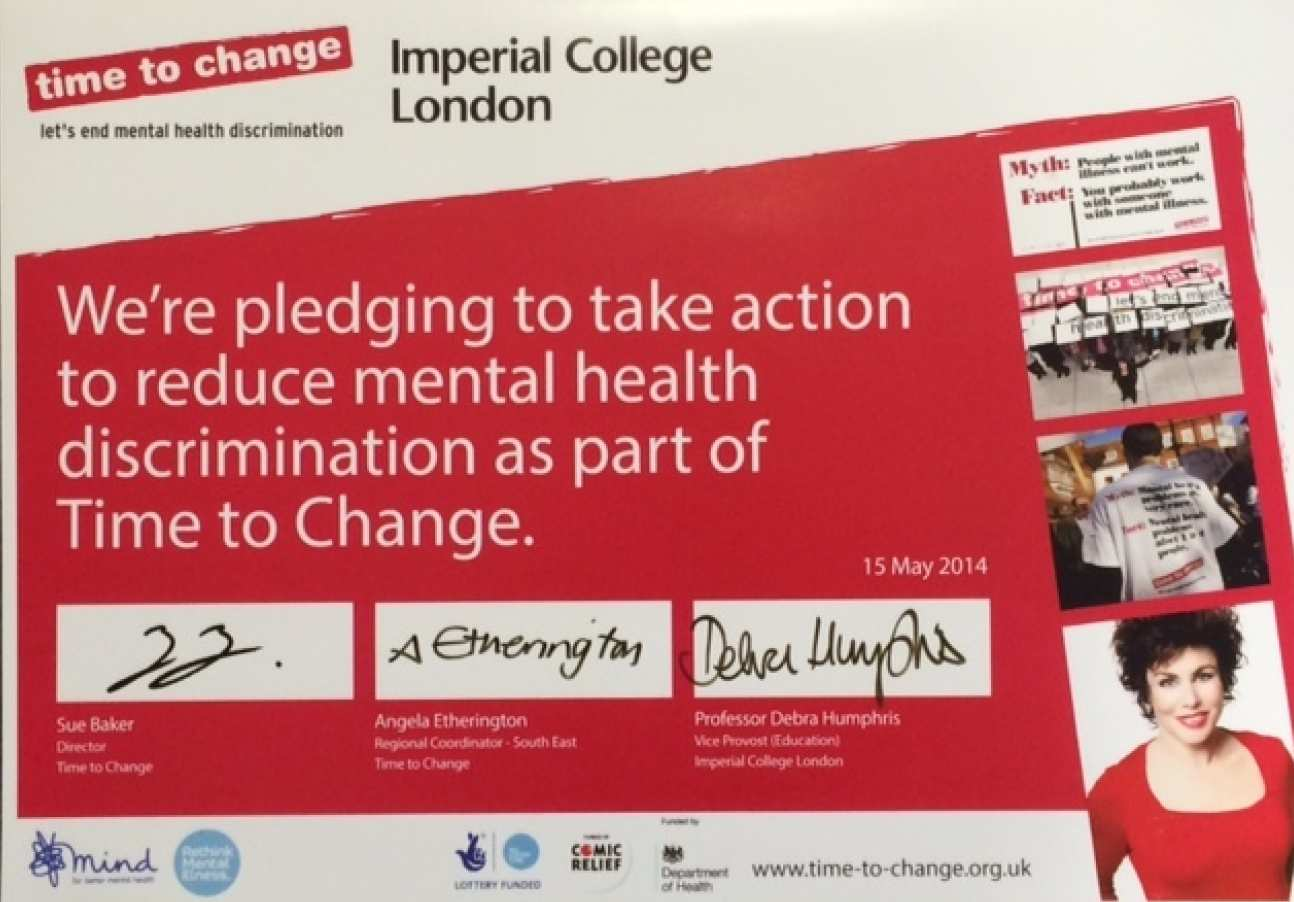 Time to change pledge