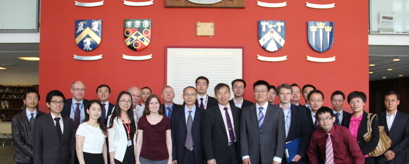AVIC London workshop group photo in the department