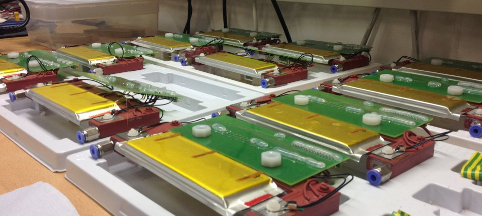 Lithium ion batteries ready to test