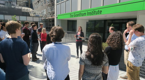 Affiliates, staff and students outside the Institute