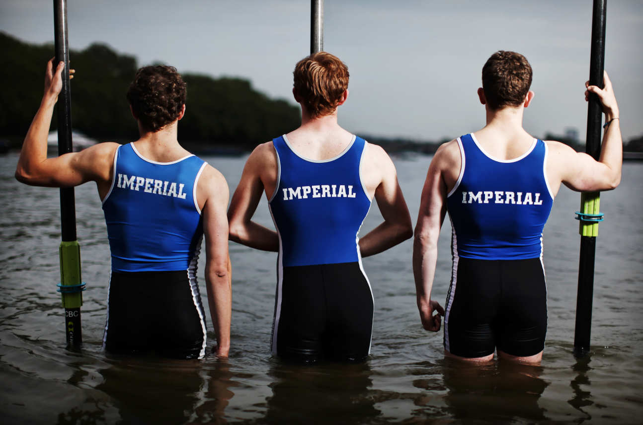 Rowers from Imperial College Boat Club