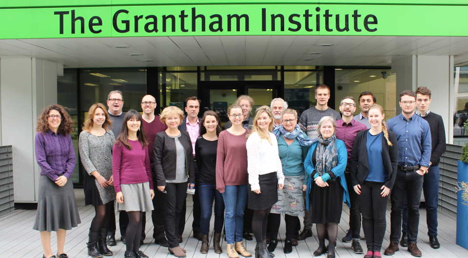 Grantham Institute with staff