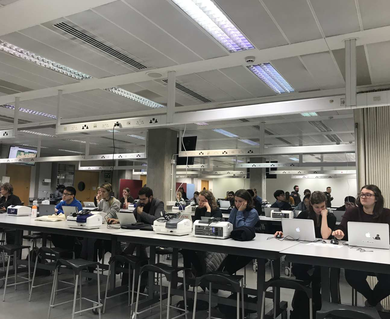 Mappers at the Imperial-hosted mapathon