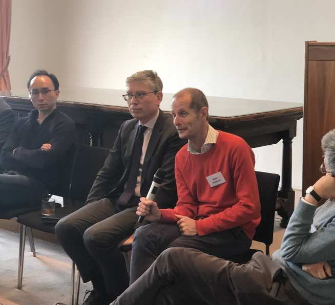 Panel discussion at the CoViD-19 meeting