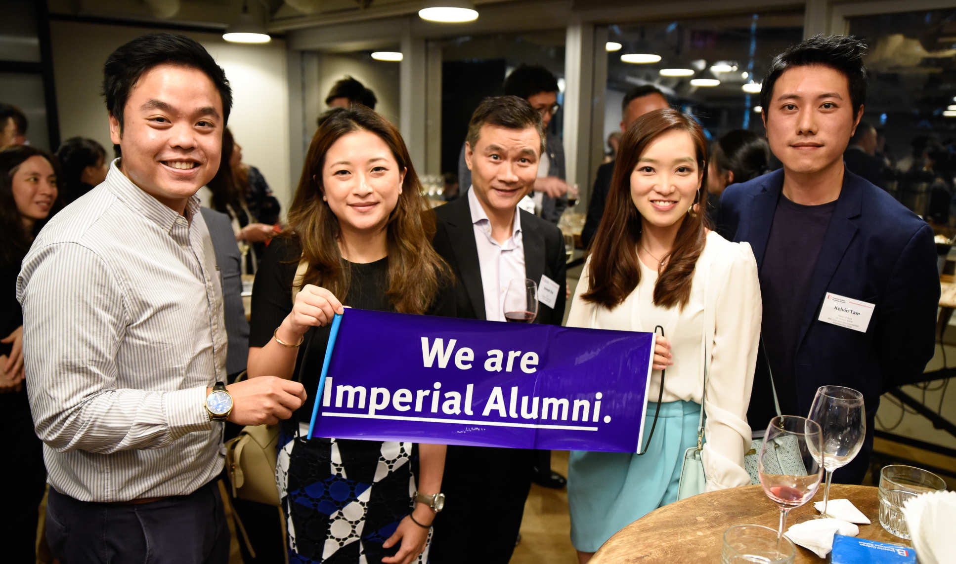More than 80 alumni attended the event in Hong Kong