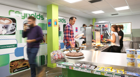 Catering outlets | Administration and support services | Imperial