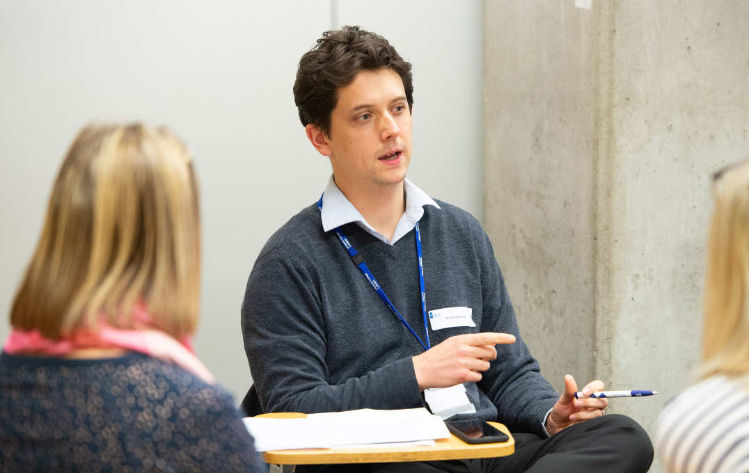 Huw Woodbridge, physiotherapist at the Trust and EE/NIHR Clinical Doctoral Fellow in the Department of Surgery and Cancer at the College, was one of the coaches on the programme