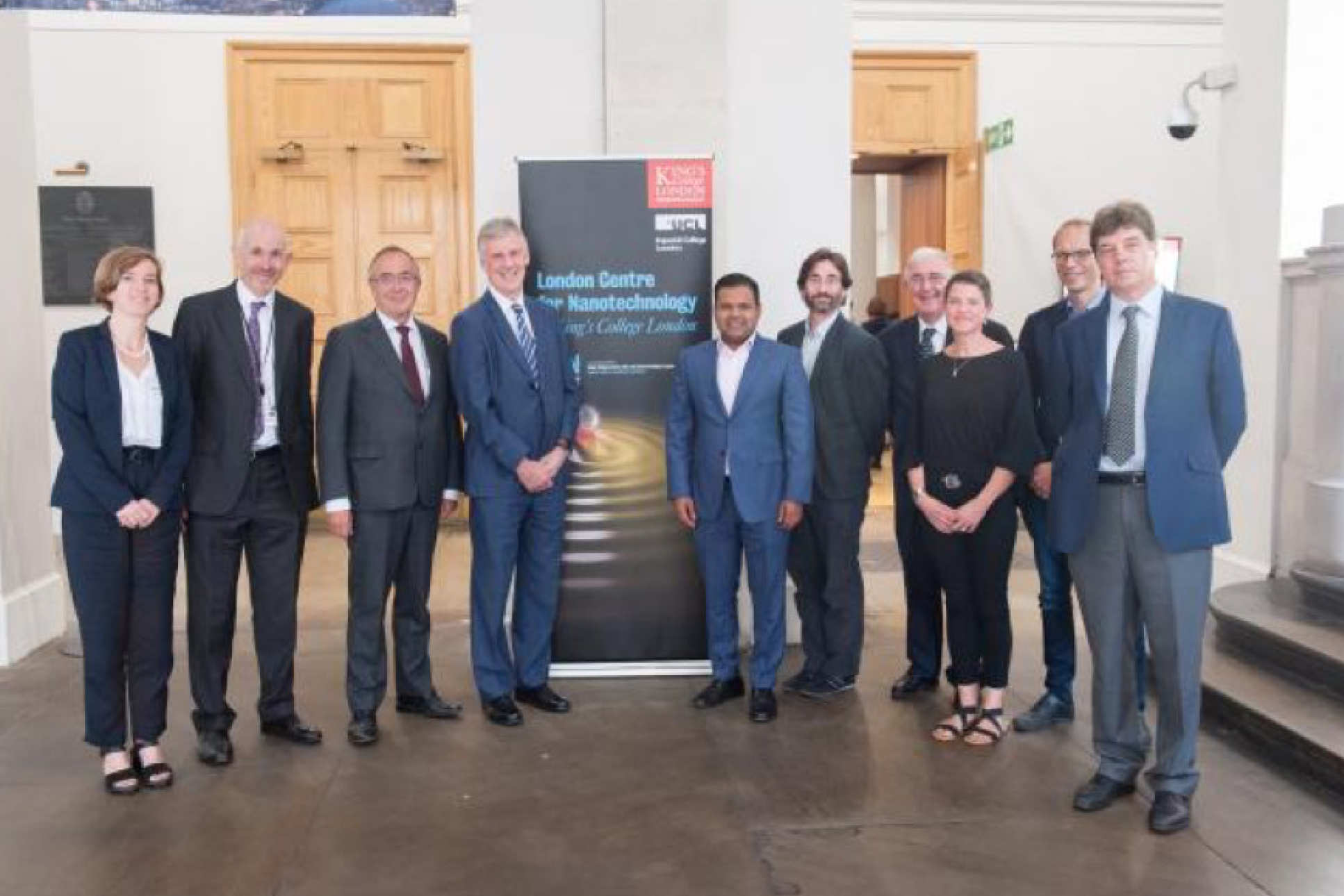 VIPs, directors and some speakers at the KCL accession launch event