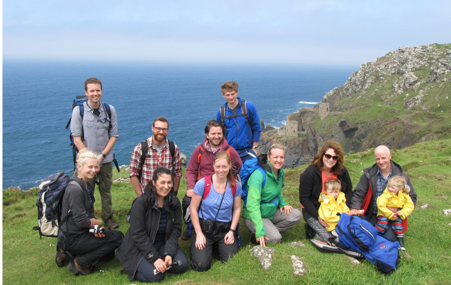 LODE Research Group - Cornwall Field Trip 2017