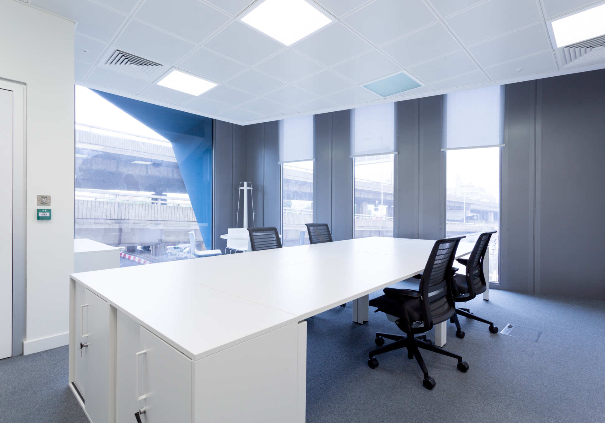 Private furnished office style 2 in the Translation & Innovation Hub, White City, west London