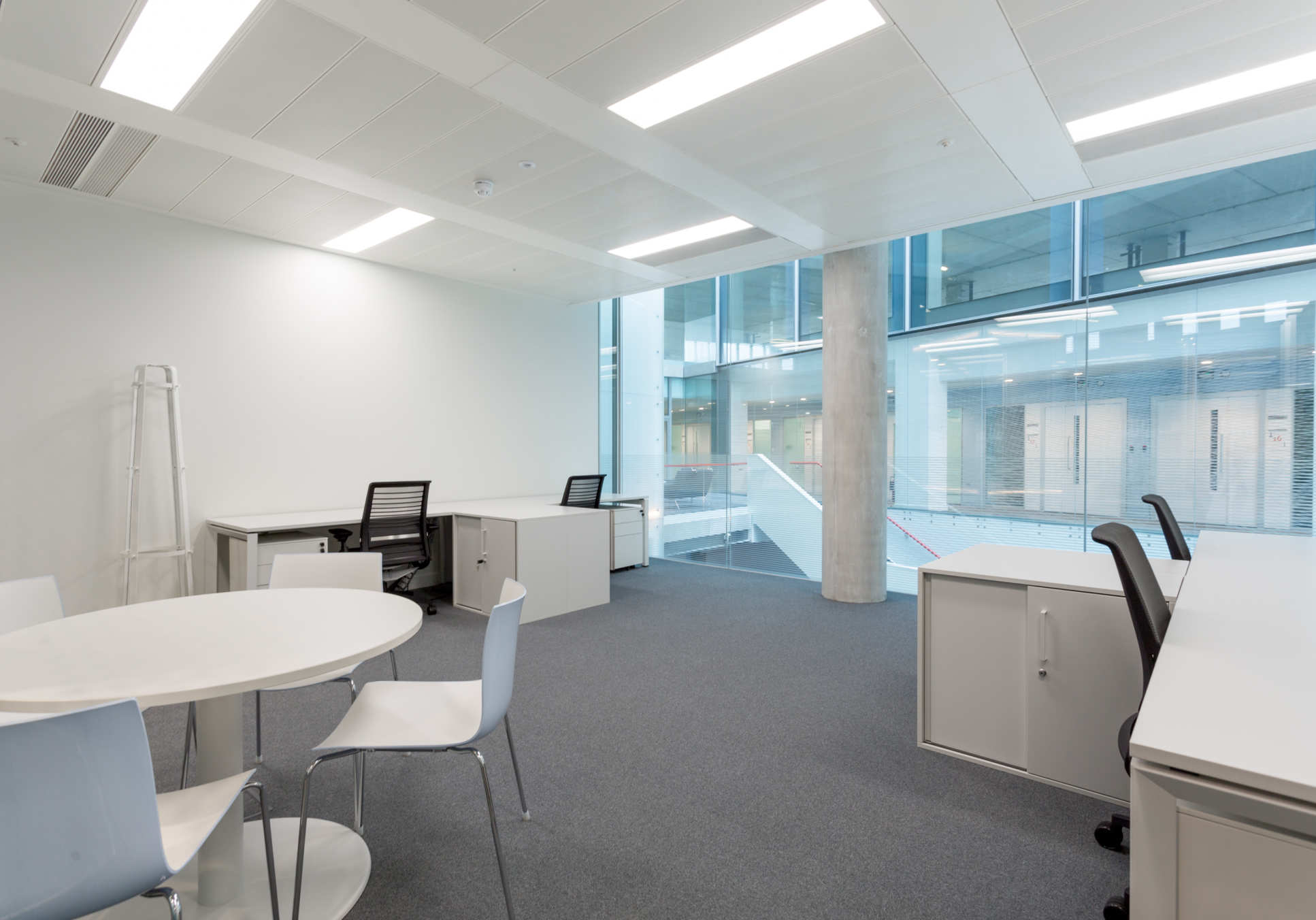 Private furnished office style 3 available now in I-HUB, West London