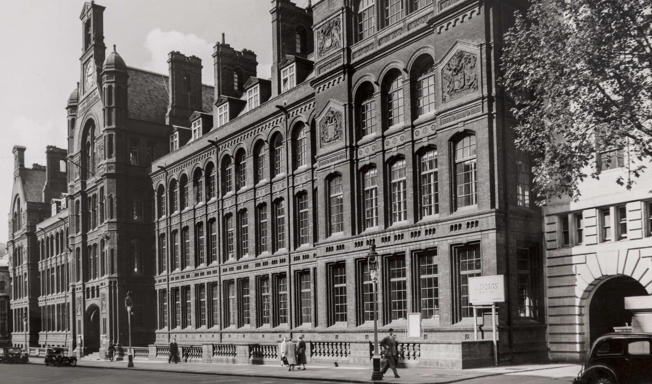 Waterhouse building 1957