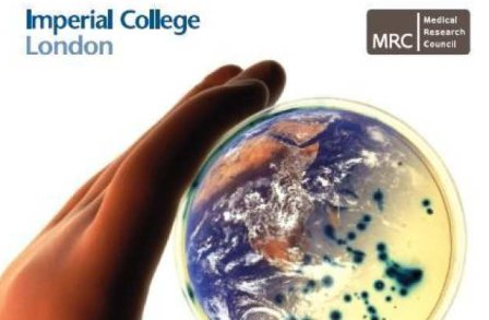 Front cover of the 2008 MRC Centre for Outbreak Analysis and Modelling Annual Report