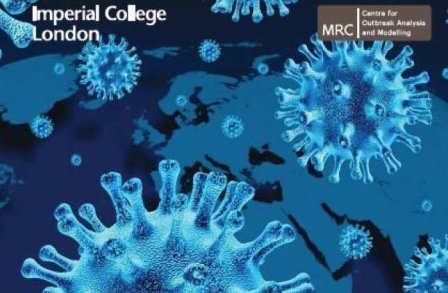 Front cover of the 2012 MRC Centre for Outbreak Analysis and Modelling Annual Report